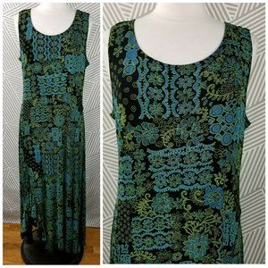Coldwater Creek size Large Travel Knit Dress